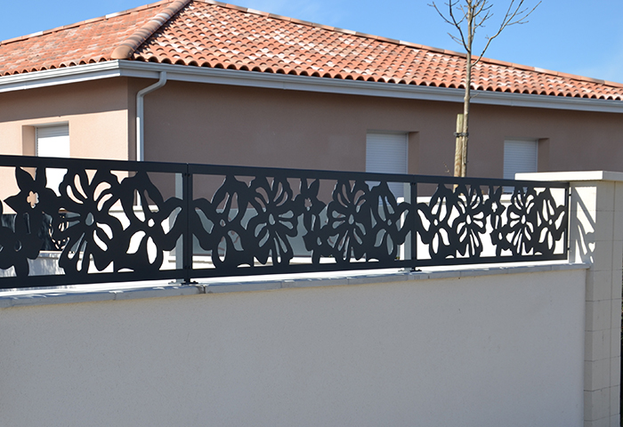 Clotures Aluminium De Jardin. Interesting Cloture Aluminium Prix ...