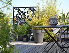 Brise-vue de terrasse
