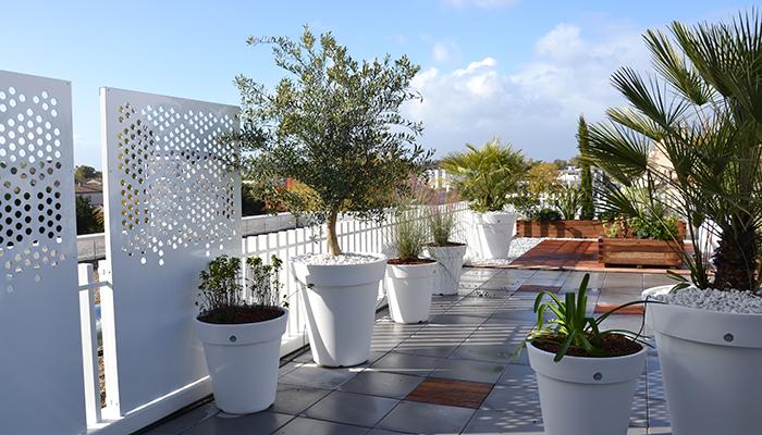 décoration de terrasse à Bordeaux