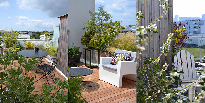 amenagement terrasse en longueur decoration terrasse exterieur photo decorer sa exterieure pas. Black Bedroom Furniture Sets. Home Design Ideas