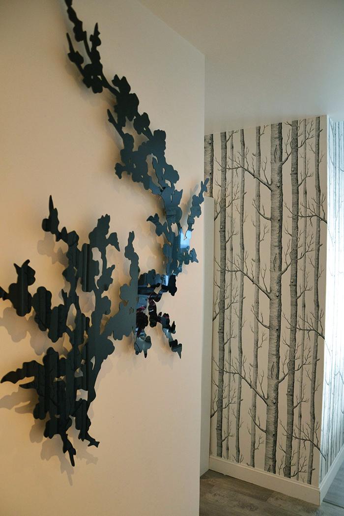 branches deco interieur beautiful une branche pour habiller un mur with branches deco interieur. Black Bedroom Furniture Sets. Home Design Ideas