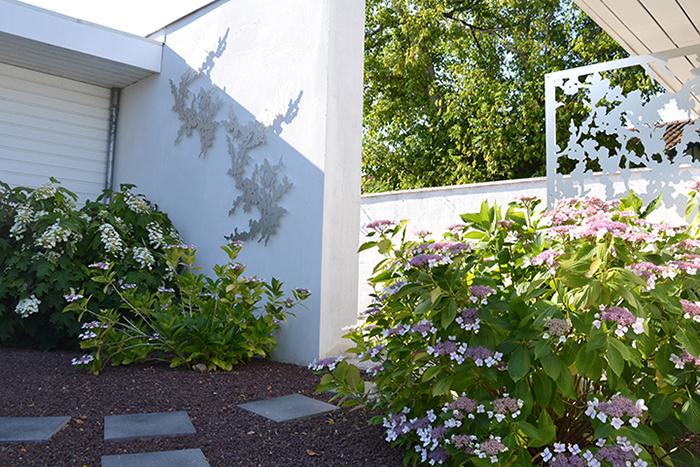 décorer un mur extérieur
