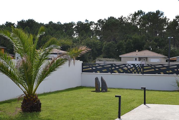clôture design géométrique Palissadesign