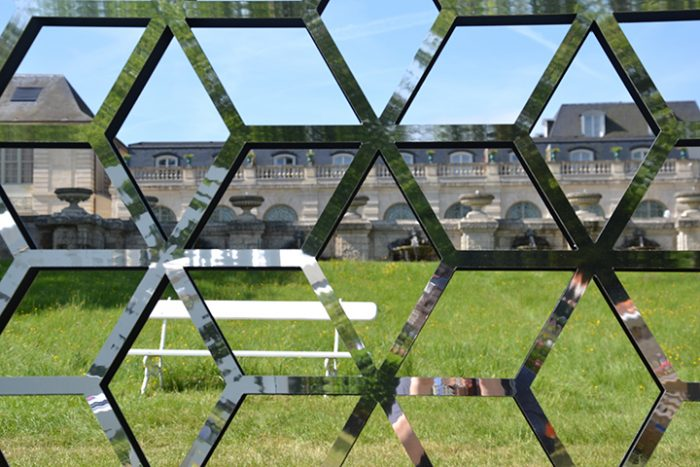 palissadesign cubes en dibond miroir