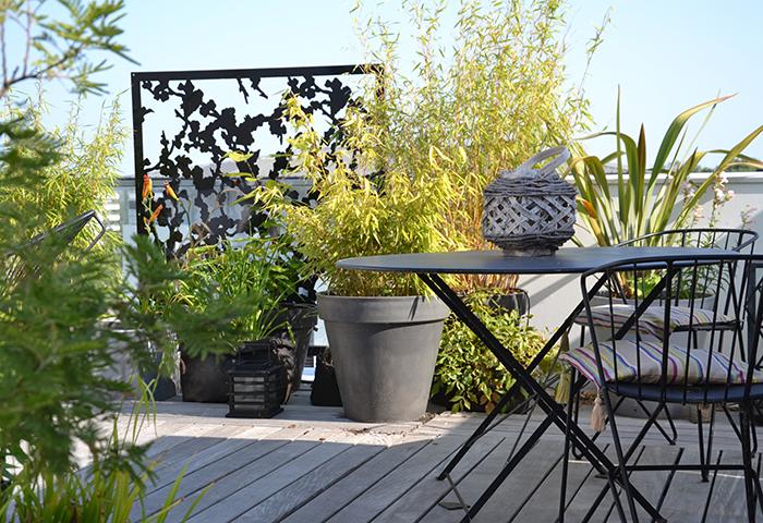 brise-vue de terrasse sur toit