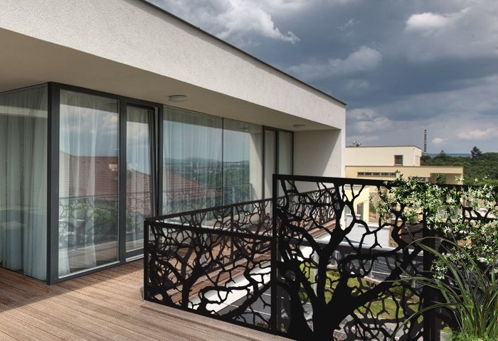 brise-vue de balcon