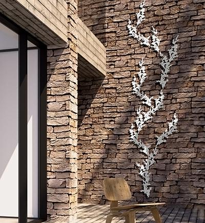 decorer un mur exterieur prunus2