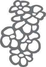 treillis fleurs pop 967