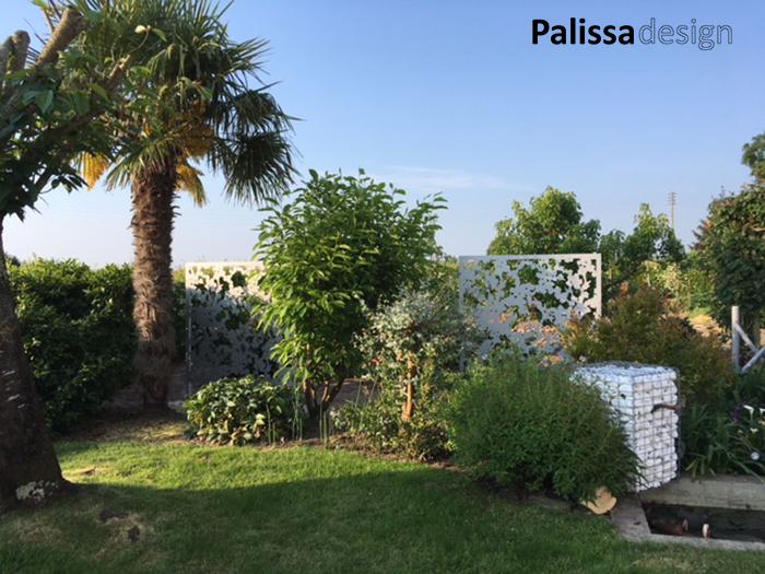 brise vue sur mesure séparatif de jardin à Angers